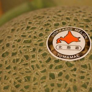北海道赤肉哈密瓜1